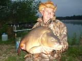 carp fishing  in croatia (LAKE-ŠUMBAR)_2